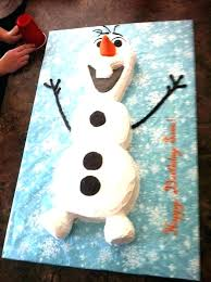 Olaf Birthday Cake Template Cute Frozen Cupcakes Perfect For A Party