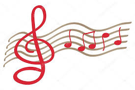 Treble Clef Music Hand Drawn Treble Clef Music Notes Isolated Vector Stock Vector