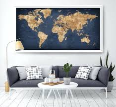 living room art ideas best map wall decor ideas on travel decorations large oversized wall posters
