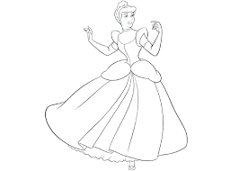 Printable Cinderella Coloring Pages Free Printable Coloring Pages To