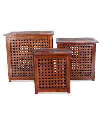 teak storage box. Delighful Storage Intended Teak Storage Box X