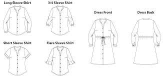 Downloadable Sewing Patterns Interesting Bonn Shirt Dress Digital Sewing Pattern PDF Itch To Stitch