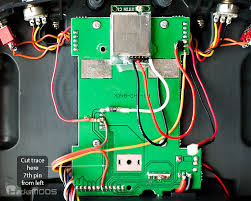 turnigy 9x hacksmods hp6dsm module wired up