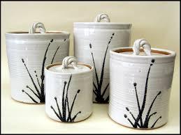 black and white kitchen canister set white ceramic kitchen canisters on kitchen canister sets black white