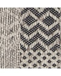 black and cream rug. Patwin Patterned Contemporary Black/Cream Area Rug Size: 5\u0027 X 7\u0027 Black And Cream L