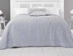 velvet geometric throw bedspread blush pink