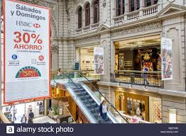 Buenos Aires Argentina Galerias Pacifico Mall Shopping