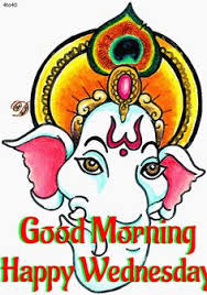 white background with ganesh images