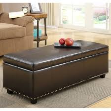 brooklyn max f 07 avalon coffee table ottoman with 4 serving trays hayneedle