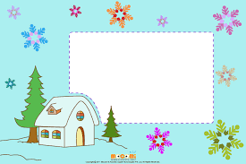 Christmas Photo Frames For Kids Christmas At Home Printable Photo Frames For Kids Mocomi