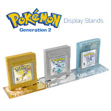 Display Stands For Pictures Pokemon Game Cartridge Display Stands Generation 100 Full Set 45