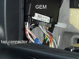 door ajar light problem it aint the switch ford truck as you can see there are two good size harness connectors attached to the gem so you have to be careful about the pin s that i referenced in my earlier