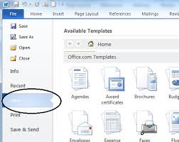 How To Open Resume Template Microsoft Word 2007 5 Resume Ms Word