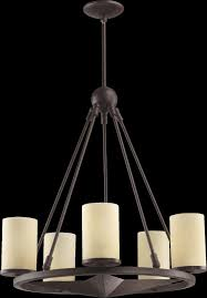 Texas Star Pendant Light Lone Star 5 Light Small Chandelier In Toasted Sienna