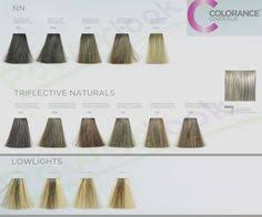 Goldwell Colour Chart 2018 Assortment Goldwell Colorance Soft Color Chart