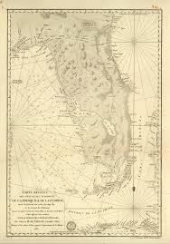 Florida Memory Nautical Chart Of The Peninsula Of Florida