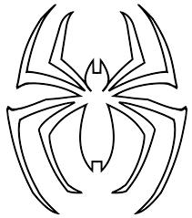 Spiderman Template Spider Man Spider Logo Template Spiderman Pumpkin
