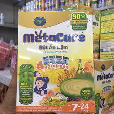 Bột ăn dậm dinh dưỡng . Hộp 4 gói vị mặn - Vị Ngọt cho bé thay đổi khẩu vị  hàng ngày. chính hãng 71,000đ