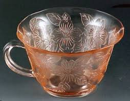 Pink Depression Glass Patterns Unique Depression Glass On Parade