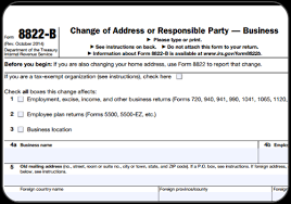 What Is IRS Form 8822-B?