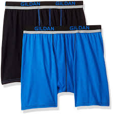 Gildan Boxer Brief Size Chart Gildan Mens Active Polyester Boxer Briefs 2 Pack