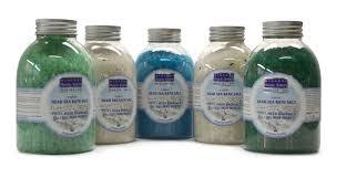 sea salt in cosmetics