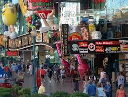 Las Vegas Strip Near The M M Store Jpg Photos