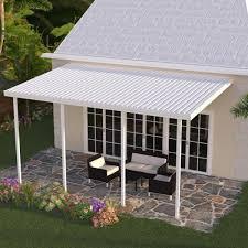 integra 20 ft x 10 ft white aluminum
