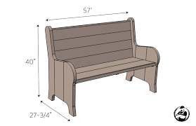 Ana White  Build A Modern Kidu0027s Picnic Table Or X Benches  DIY Plans For Building A Bench