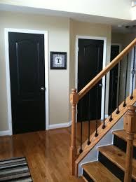 interior door painting ideas. Astonishing Design Of Wooden Black Interior Doors Idea For Bedroom With  White Frame Interior Door Painting Ideas O