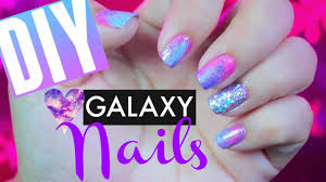 Pink Nail Designs Tumblr How To Diy Pink Galaxy 80s Inspired Disco Nails Pinterest Tumblr Simple Easy Nail Art Design