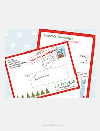 Letter From Santa Mr Printables