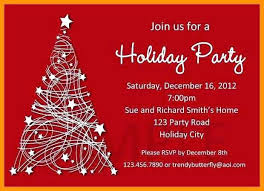 Free Holiday Party Invitation Templates Word Template Business