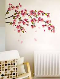 cherry blossom wall sticker by walldana ping for wall decals stickers in india 1024784