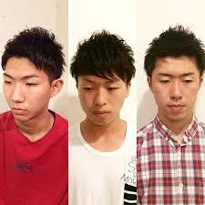 短めの髪型でさっぱりした爽やかなヘアスタイル 京都市 メンズカット