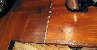 finish wood countertops how