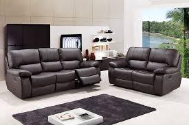 com blackjack furniture 9389 brown 2pc modern italian leather sofa and loveseat set brown kitchen dining