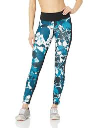 New Balance Women's <b>Printed Impact Tight Print</b>, North Sea, X-Small