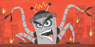 Image result for angry robot