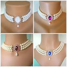 Pin by Alisa Goff on Finest Jewelry Collections | Indian choker necklace,  Pearl choker, Custom necklace