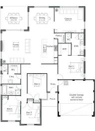 Open Floor Plan House Plans Open Concept Ranch Homes Spectacular