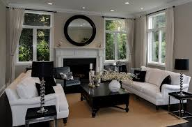 black n white furniture. An Elegant Living Room Dominated By Black And White Where The Sofa Set Is Paired N Furniture T