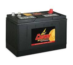 Crown 31HDC130 - <b>12v</b> - 130AH <b>Deep Cycle Battery</b> | Battery Guys