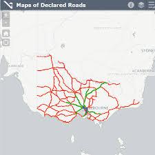 Сoronavirus infection rate per 1 million population. Maps Of Declared Roads Vicroads