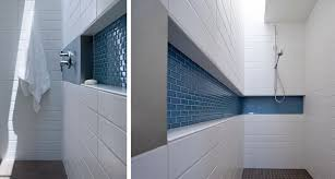 shower niches work for you in the bathroom
