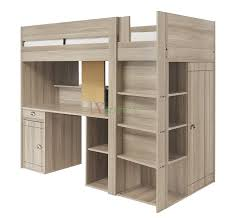 largo loft bunk bed with desk closet and storage by gautier xiorex