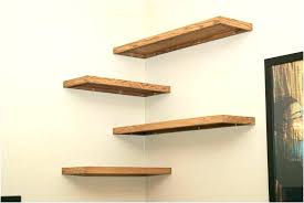 exotic wood shelf brackets decorative corner shelves small wooden unit best images about bracket exterior white