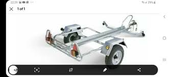 erde pm310 single motorcycle trailer