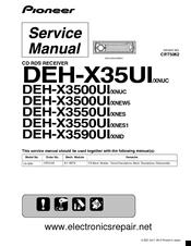 pioneer deh x3550ui manuals Pioneer Deh X36ui Wiring Diagram pioneer deh x3550ui service manual pioneer mixtrax deh-x36ui wiring diagram