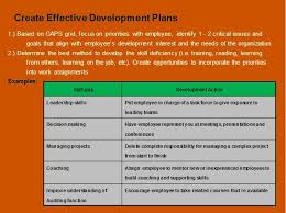Individual Development Plan Example Free Employee Examples Action